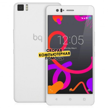 Смартфон BQ Aquaris M5 White, белый