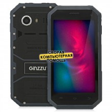 Смартфон GiNZZU RS81D Black, черный
