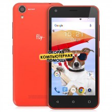 Смартфон Fly FS454 Nimbus 8 Red, красный