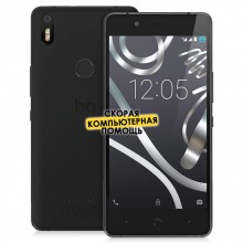 Смартфон BQ Aquaris X5 Plus Black, черный