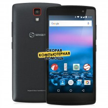 Смартфон Senseit A200 black
