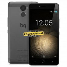 Смартфон BQ Aquaris U Plus 32 Gb Black, черный