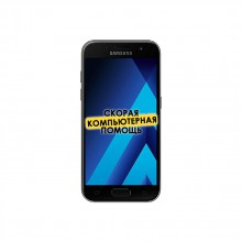 Смартфон Samsung SM-A320 Galaxy A3 (2017) black